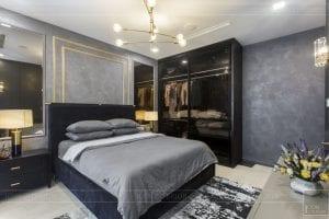 thi công nội thất căn hộ chung cư 3 phòng ngủ - phòng ngủ master 3