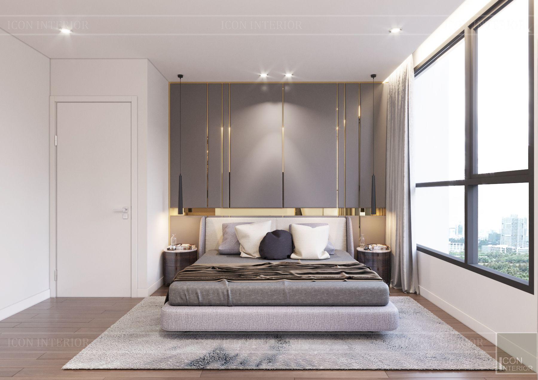 landmark 3 vinhomes central park - phòng ngủ master 4