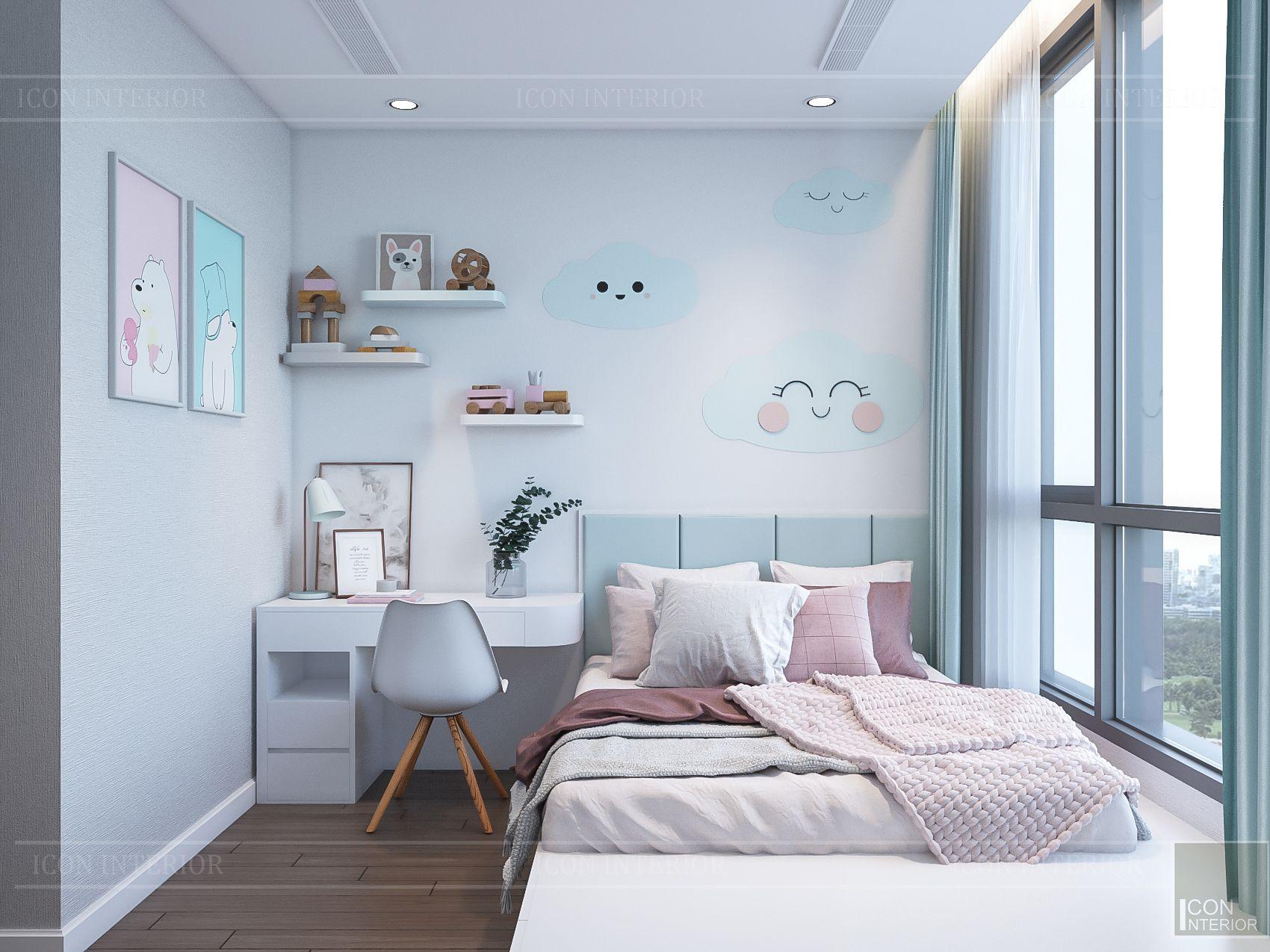 thiết kế nhà phong cách hiện đại - phòng ngủ bé 2