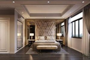 biệt thự đông dương - phòng ngủ master 2