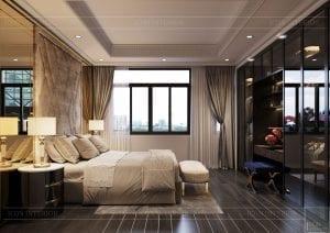 biệt thự đông dương - phòng ngủ master 1