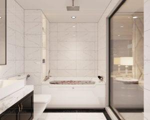biệt thự đông dương - phòng tắm phòng ngủ master 3