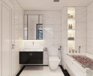 biệt thự đông dương - phòng tắm phòng ngủ master 2