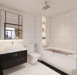 biệt thự đông dương - phòng tắm phòng ngủ master 1