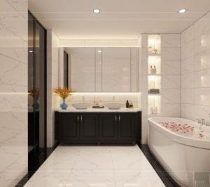 biệt thự đông dương - phòng tắm phòng ngủ nhỏ 3