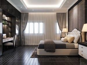 biệt thự đông dương - phòng ngủ nhỏ 4
