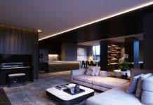 thiết kế nội thất liền kề 2 căn hộ landmark 1 5