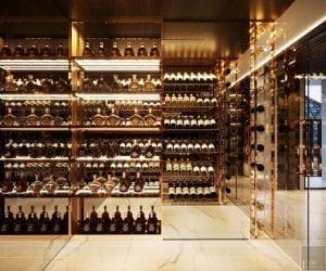 thiết kế nội thất liền kề - tủ rượu 3