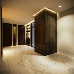 thiết kế nội thất liền kề - hành lang 2