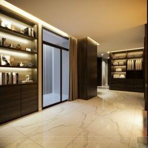 thiết kế nội thất liền kề - hành lang 3