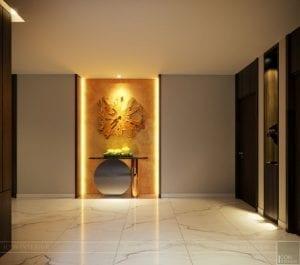 thiết kế nội thất liền kề - hành lang 5