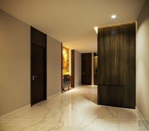 thiết kế nội thất liền kề - hành lang 6