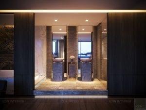 thiết kế nội thất liền kề - phòng tắm