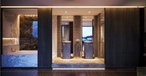 thiết kế nội thất liền kề - phòng tắm 2