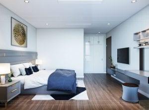 nội thất nhà ở theo phong cách hiện đại - phòng ngủ master 4