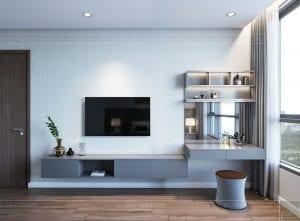 nội thất nhà ở theo phong cách hiện đại - phòng ngủ master 3