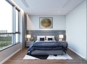 nội thất nhà ở theo phong cách hiện đại - phòng ngủ master 2
