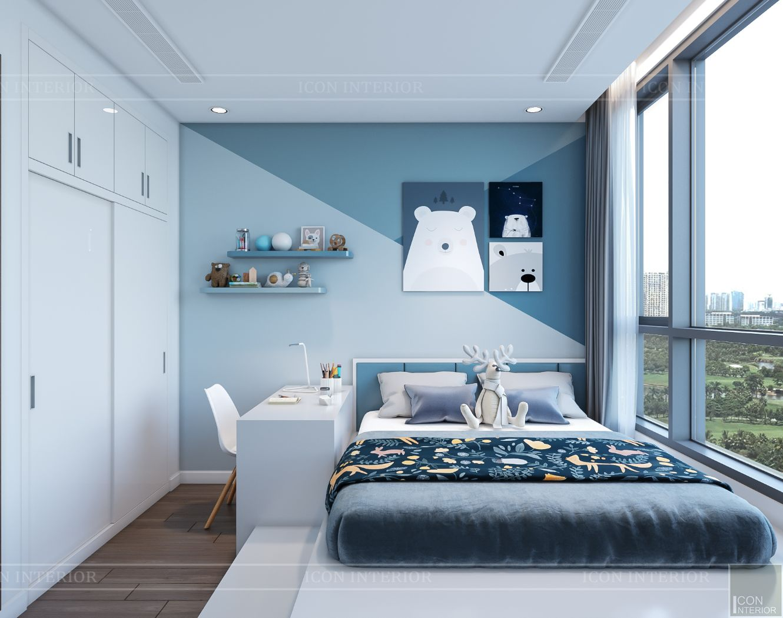 nội thất nhà ở theo phong cách hiện đại - phòng ngủ bé 2