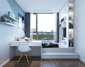 nội thất nhà ở theo phong cách hiện đại - phòng ngủ bé 1