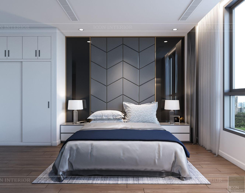 nội thất nhà ở theo phong cách hiện đại - phòng ngủ nhỏ 2
