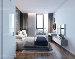 nội thất nhà ở theo phong cách hiện đại - phòng ngủ nhỏ 1
