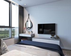 nội thất nhà ở theo phong cách hiện đại - phòng ngủ nhỏ 3