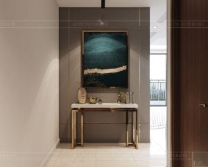 nội thất nhà ở theo phong cách hiện đại - phòng khách bếp 1