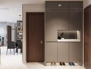 nội thất nhà ở theo phong cách hiện đại - phòng khách bếp 2