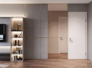 thiết kế nội thất tân cổ điển đẹp - phòng ngủ master 2