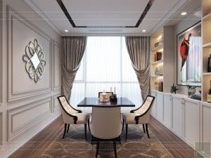 thiết kế nội thất tân cổ điển đẹp - phòng giải trí 1