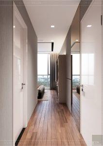 thiết kế nội thất tân cổ điển đẹp - phòng ngủ master 1
