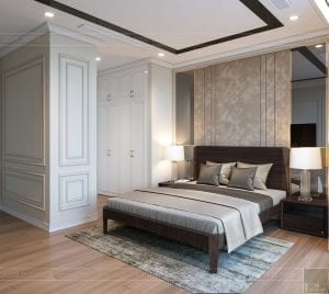 thiết kế nội thất tân cổ điển đẹp - phòng ngủ nhỏ 3