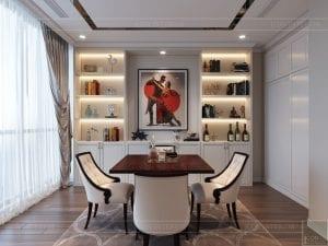 thiết kế nội thất tân cổ điển đẹp - phòng giải trí 3