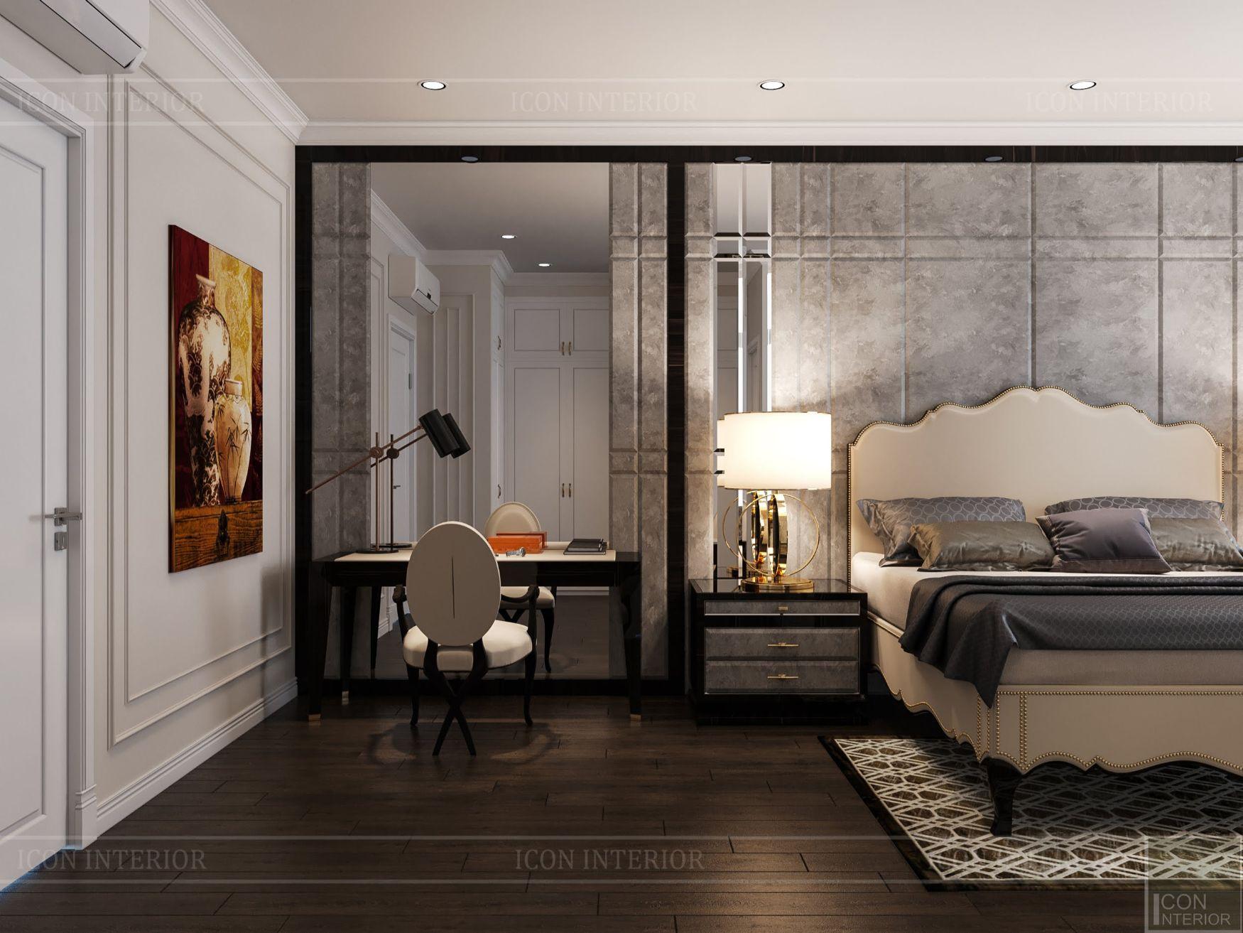 mẫu thiết kế nội thất biệt thự - phòng ngủ 3