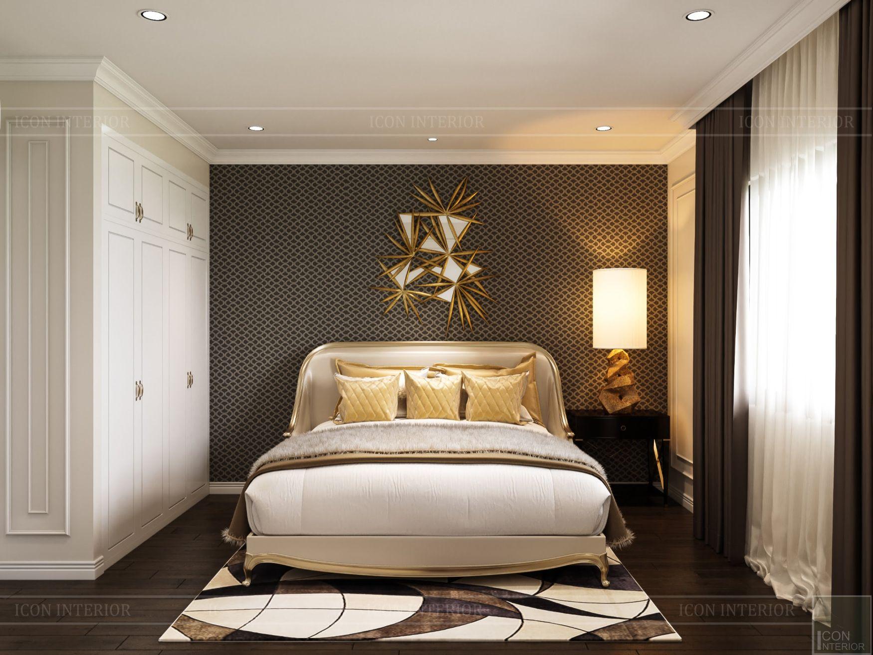 mẫu thiết kế nội thất biệt thự - phòng ngủ 1