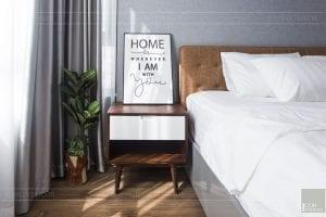 thi công hoàn thiện nội thất phòng ngủ master 6