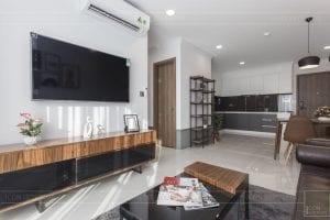 thi công hoàn thiện nội thất phòng khách bếp 5