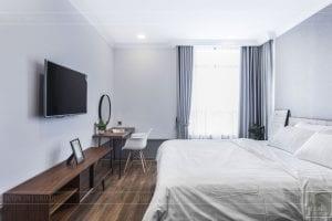 thi công hoàn thiện nội thất phòng ngủ master 3