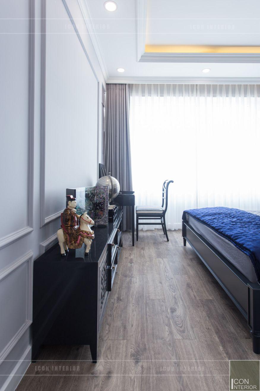 thi công nội thất chung cư 3 phòng ngủ - phòng ngủ master 6