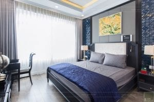 thi công nội thất chung cư 3 phòng ngủ - phòng ngủ master 4