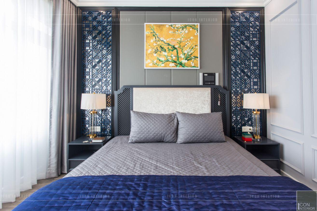 thi công nội thất chung cư 3 phòng ngủ - phòng ngủ master 3