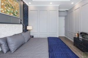 thi công nội thất chung cư 3 phòng ngủ - phòng ngủ master 2