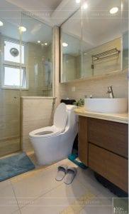 thi công nội thất chung cư 3 phòng ngủ - phòng tắm 2