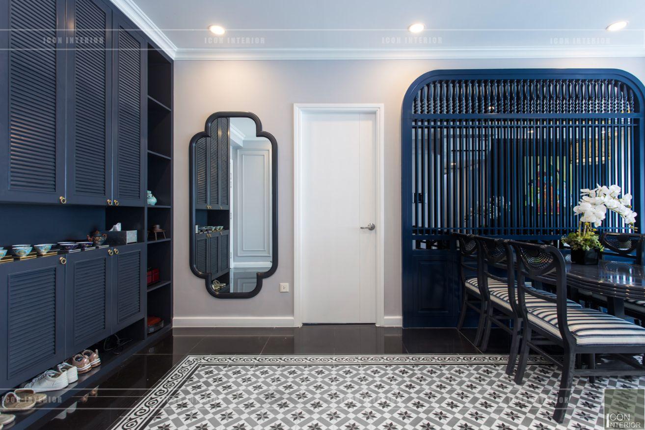 thi công nội thất chung cư 3 phòng ngủ - phòng khách bếp 9