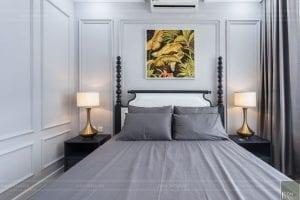 thi công nội thất chung cư 3 phòng ngủ - phòng ngủ 3