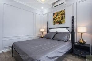 thi công nội thất chung cư 3 phòng ngủ - phòng ngủ 1