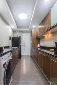 nội thất chung cư 3 phòng ngủ - phòng bếp 2