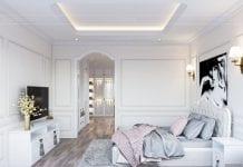 thiết kế căn hộ 2 phòng ngủ - phòng ngủ