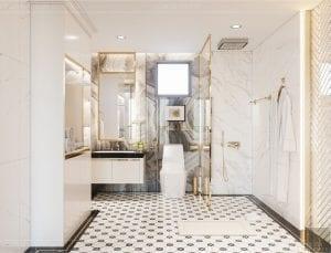 căn hộ hà đô centrosa quận 10 - phòng tắm 3