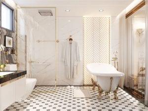 căn hộ hà đô centrosa quận 10 - phòng tắm 2
